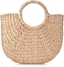 Straw - Top-Handle Bags / Handbags & Wallets ... - Amazon.com