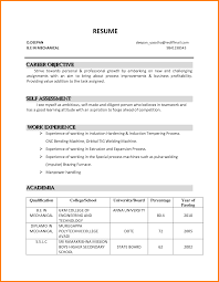 Employment Objective For Resume Free Resume Example And Writing