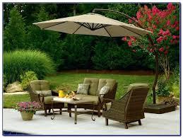 hampton bay cantilever umbrella solar offset umbrella market umbrella replacement canopy rectangular patio for