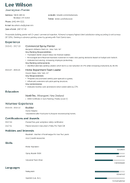 House Painter Resume Painter Resume Sample Complete Guide 20 Examples