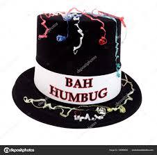 Bah Humbug Hat With Lights Bah Humbug Costume Celebration Top Hat Confetti Streamers