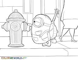 Small Picture 7 best Minions Coloring Pages images on Pinterest Printable