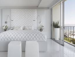 Small White Bedroom White Bedroom With Color Accents White Cream Silk Curtains Natural