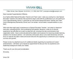 Elementary Education Cover Letter Elementary School Teacher Cover
