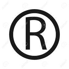 Registered Trademark Symbol Icon Letter R