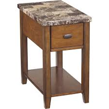 Furniture Chairside End Table Skinny End Tables