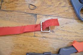 diy leather dog collar 5