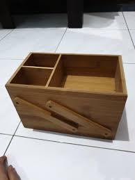 Image Wood Planter Box Carousell Box Make Up Kayu Home Furniture On Carousell