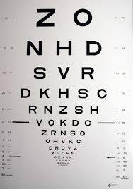 Visual Navigation Chart Nz Visual Acuity Test Chart Catalogue Eye Chart Store