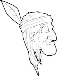 Patriotic Symbols Coloring Pages Superb Native American Indian