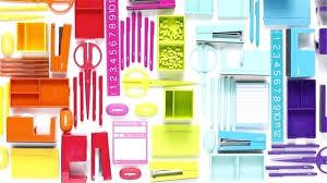 Colorful office accessories Kid Desk Colored Desk Accessories Colorful Office Accessories Perfect Accessories To Colorful Office Accessories Teal Colored Desk Colored Desk Accessories Bitburnorg Colored Desk Accessories Cheery Color Coordinated Desk Accessories