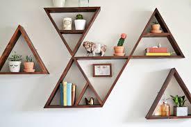diy triangle shelf whimsy darling