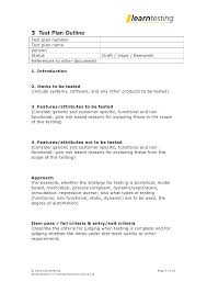 Management Plan Template Example For Construction Project Quality