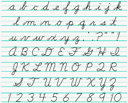 I think that teaching cursive is super important especially for reading. U In Cursive Page 1 Line 17qq Com