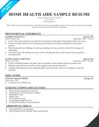 Caregiver For Elderly Resume Elderly Caregiver Resume No Experience