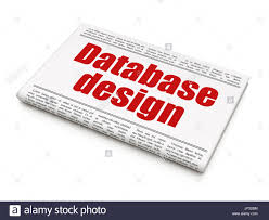 Database Design And Programming Programming Concept Newspaper Headline Database Design