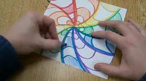 Art Designs Easy Easy Op Art Design For Kids
