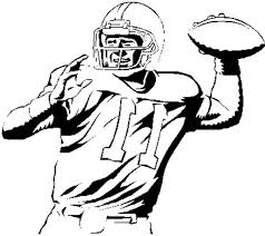 Football Player Coloring Pages Getcoloringpagescom