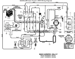 murray riding mower wiring diagram images mtd lawn tractor ignition switch wiring lzk gallery