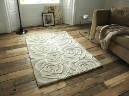 100 wool rugs fl design hand tufted rug large yarn