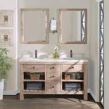 Elbe Rustic 60 Double Sink Vanity By Northridge Home