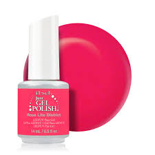Ibd Just Gel Colour Chart Ibd 587 Just Gel Polish Rose Lite District 56587