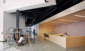 office feature wall. A Bike Rack. Office Feature Wall L