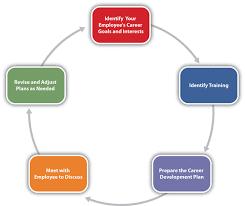 designing a training program figure 8 11 career development planning process