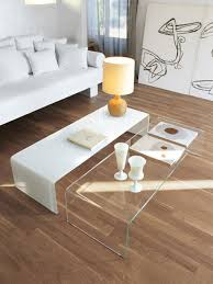 Curved Glass Coffee Table   Bridge By Sovet Italia