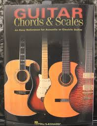 Guitar Chords Scales An Easy Reference For Acoustic Or Electric Guitar Method Book