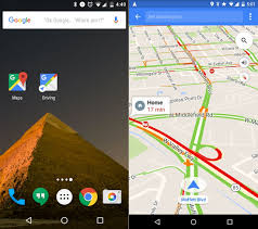 google maps' new driving mode already knows where you want to go