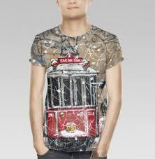 Купить <b>мужские футболки</b> 3д с полной запечаткой - недорого в ...