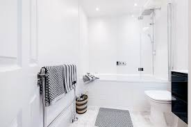 this can be especially effective in slim powder rooms with small walls that don t take much glass to cover