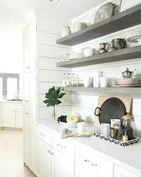 gray floating shelves classic by stained design indulgence my kitchen wooden