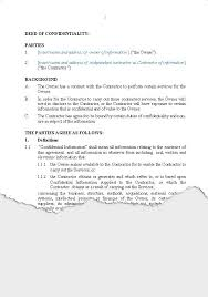 Business Confidentiality Agreements New Zealand Legal Documents