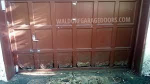 wood garage door panelsGarage Door Panel Repair  Replacement  Waldorf