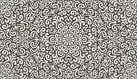 Intricate Patterns Interesting Intricate Dark Brown Flower Pattern Stock Vector Illustration Of
