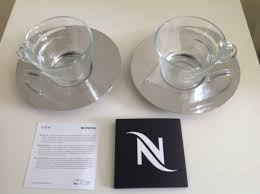 nespresso view cappuccino cups saucers brand