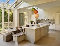 Kitchen Family Room Design Kitchen Island And Dining Table Combination