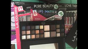 family dollar makeup haul holiday gift sets l a colors