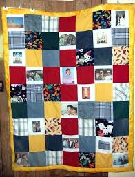 Photo Memory Quilts Ideas Memorial Clothes Quilt Photo Memory ... & ... Photo Memory Quilts Uk Photo Memory Quilt Patterns Danny Forever In Our  Hearts Memory Quilt Photo ... Adamdwight.com
