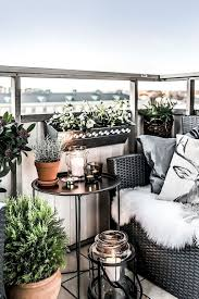 34 Clever Decorating Ideas for Small Balcony