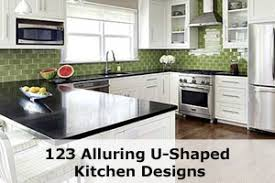 Breathtaking U Shaped Kitchen Designs