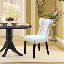 maison rouge erin modern white dining chairs set of 2 today overstock 20370333