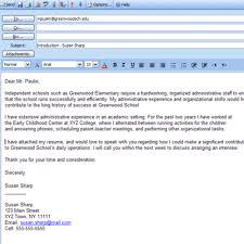 cover letter sample cover letter emails examples sample cover ...