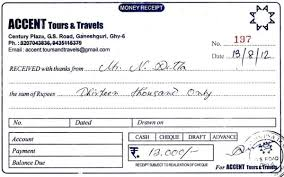 Free 8 Travel Receipt Samples And Templates In Pdf Word