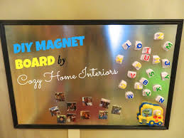 here s a list of things you need to make this magnet board everything you can purchase from lowe s magnets separate