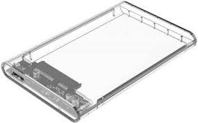 <b>Orico 2.5 inch</b> Transparent USB3.0 Hard Drive Enclosure (2139U3 ...
