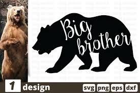 Use logodesign.net's logo maker to edit and download. Big Birthday Svg Quote Bear Svg Quote Brother Quote Svg 553459 Cut Files Design Bundles
