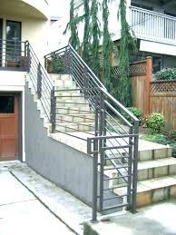 steel stair railing. Metal Stair Railing Outdoor Home Depot Exterior Iron Railings . Steel